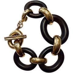 1980s Yves Saint Laurent Chain Bracelet