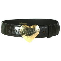 Yves Saint Laurent Love Belt