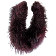 Gucci real fur Scarf