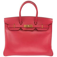 Hermes Birkin 35cm Red