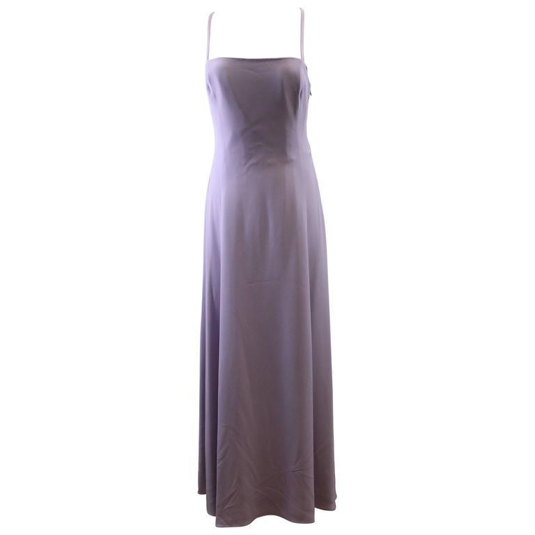"""Giorgio Armani """"Armani Collezioni"""" Long Dress Size 44"""