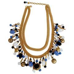 Francoise Montague Replique Charm Necklace