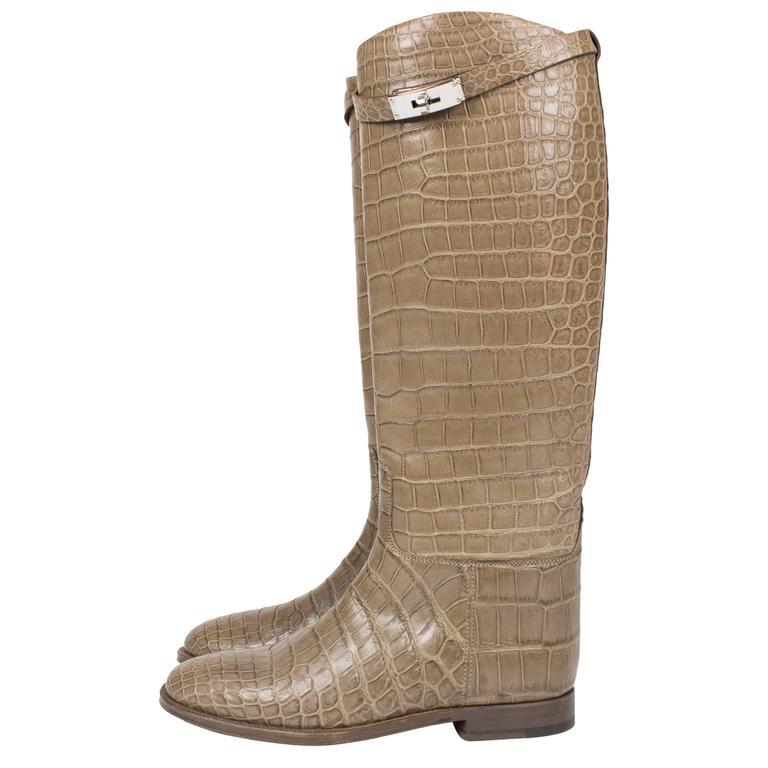 buy cheap genuine Hermès Metallic Cutout Boots shopping online original best store to get for sale WD1xaJN