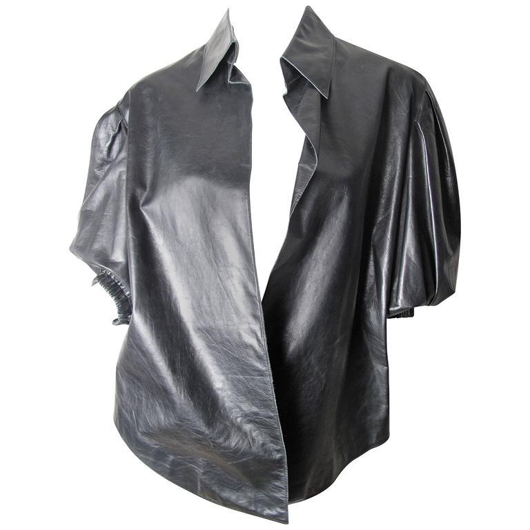 Yves Saint Laurent Leather Shirt  1