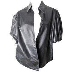 Yves Saint Laurent Leather Shirt