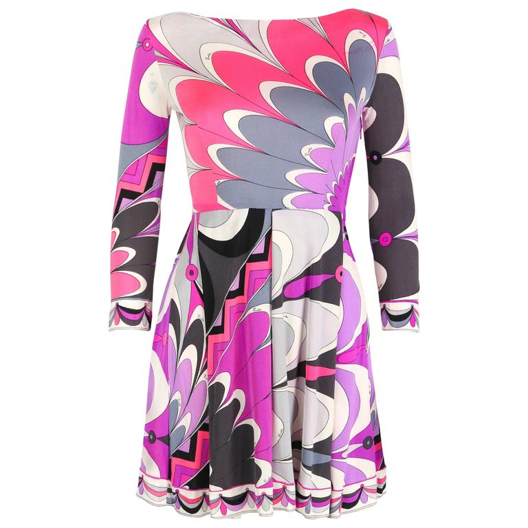 abstract printed belt - Pink & Purple Emilio Pucci Fc6nVVGGK