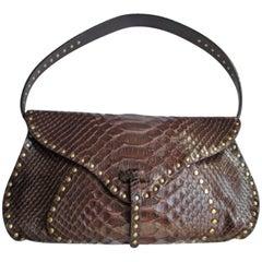 Celine little brown leather shoulderbag