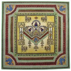 "Limited Edition ""Voyage en Chine"" Atelier Versace Hand Knotted Wool Rug"