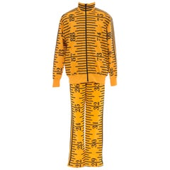Jeremy Scott For Adidas Men's Tape Measure Tracksuit