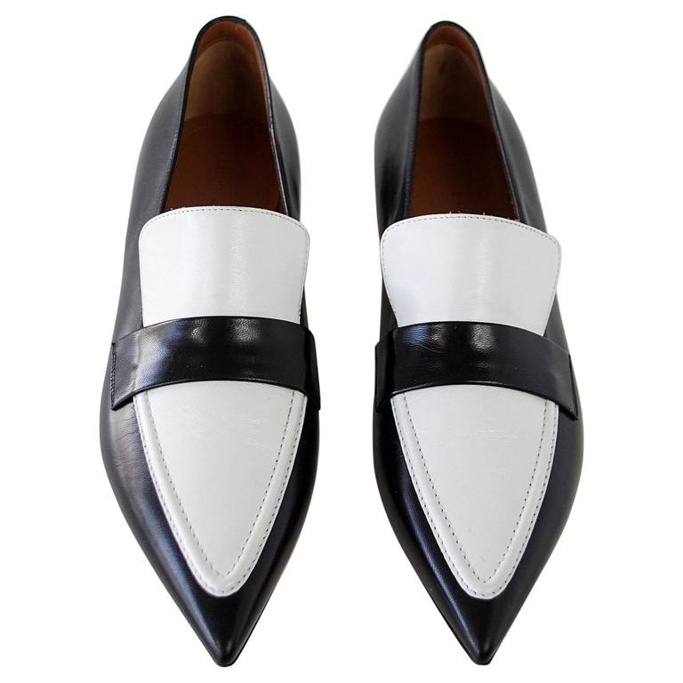 Céline Pointed-Toe Canvas Oxfords buy cheap shop offer real free shipping how much gbBeV5OZmO