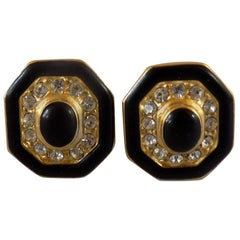 Gold tone Clip on earrings