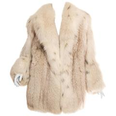 1970s Fox Fur Coat