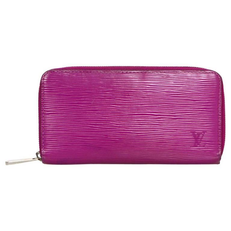 abec8e41a1fc Louis Vuitton Fuchsia Epi Leather Zippy Wallet For Sale at 1stdibs