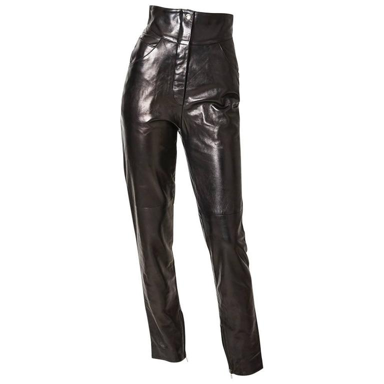 Find great deals on eBay for leather high waisted jeans. Shop with confidence.