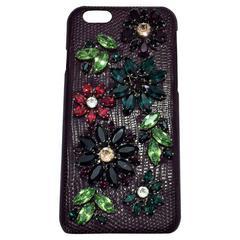 Dolce & Gabbana Crystal Embellished iPhone 6 Case.