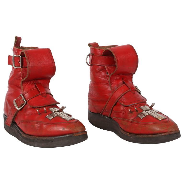 SEDITIONARIES original punk studded ankle boots, circa 1977