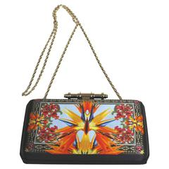 Givenchy Obsedia Minaudiere Bird of Paradise Clutch on Chain Crossbody Bag