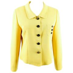 Loris Azzaro Paris Wool Crepe Jacket