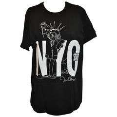 """John Lennon """"Limited Edition"""" """"Power To The People"""" Black/White Tee Shirt"""
