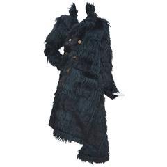 Comme Des Garcons  Faux  Fur Coat Metropolitan Museum NY, AD 2002