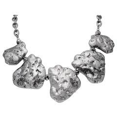Vintage Silver Tone Necklace