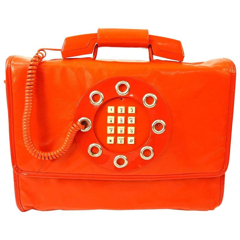 1970s Dallas Handbags Phone Directory Red Leather Purse Nwt For