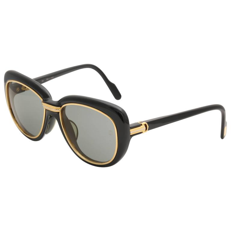 Vintage Cartier Conquete Sunglasses For Sale
