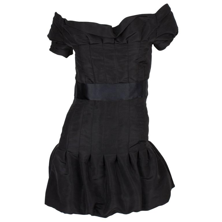 Chanel Silk Dress - black 2005