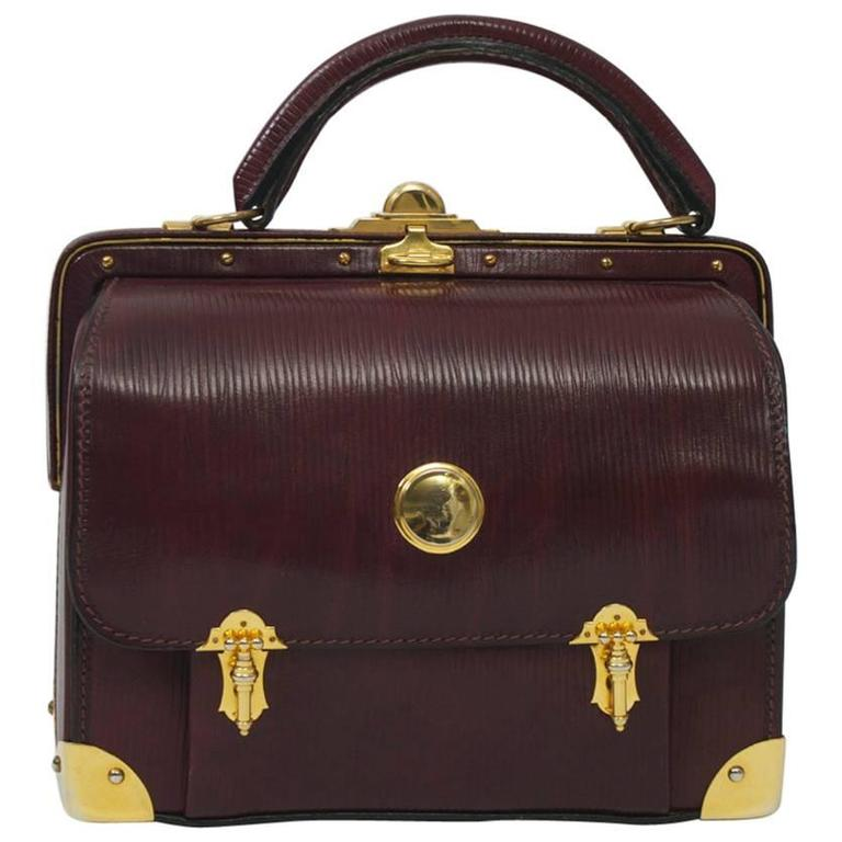 Roberta di Camerino Handbag with Gold Hardware