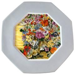 1976 Fleur Cowles Plate for Limoges Denby Flair Magazine