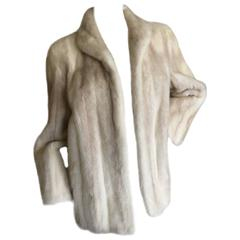 Luxurious Natural Pearl Mink Jacket