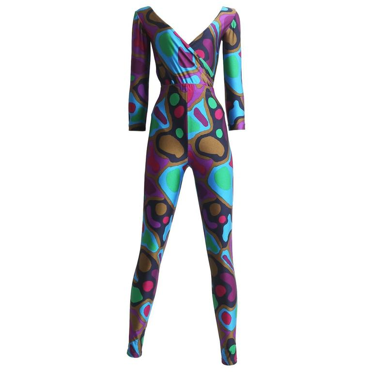 Ungaro body and leggings ensemble, circa 1980s