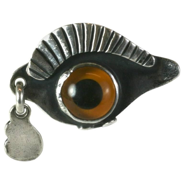Sam Kramer Eye Ring For Sale