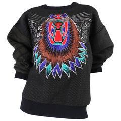 1980's Kansai Yamamoto Embroidered Sweater