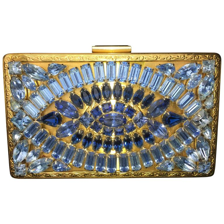 1stdibs Art Deco Precious Stone Jeweled Lame Evening Bag lmRBoa