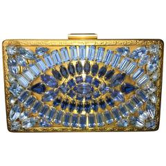 Gorgeous Surrealistic 1950's Evening Bag by Elgin American.
