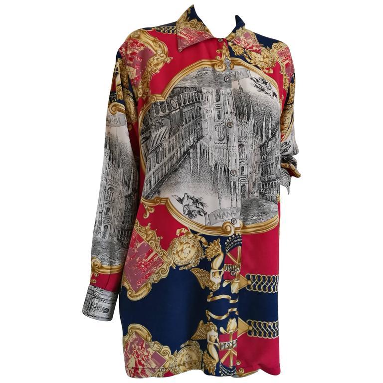 Moschino multicolour shirt 1