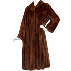 Stunning 80s Russian Sable Fur Coat