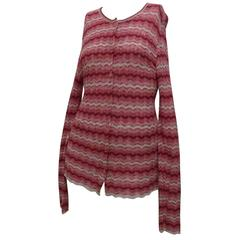 Missoni Pink Sweater Cardigan