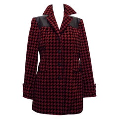Moschino Couture Pied de poule Jacket