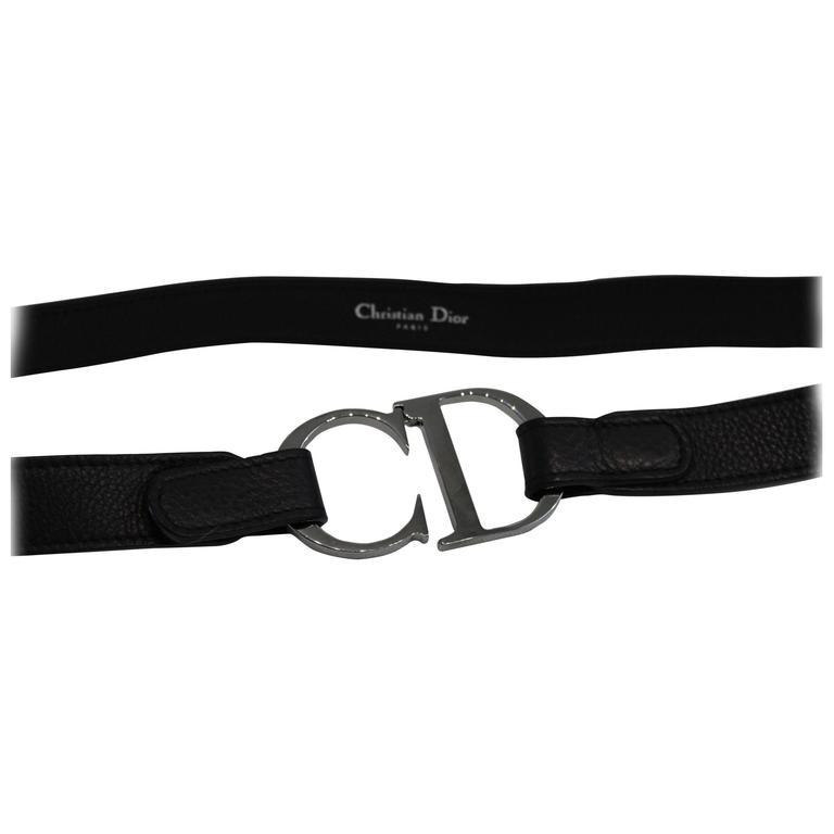 Christian Dior Vintage Stainlees steel belt 1