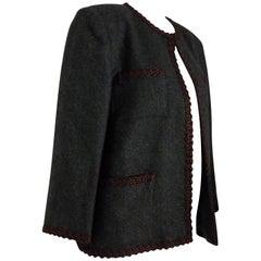 Yves Saint Laurent Green Jacket