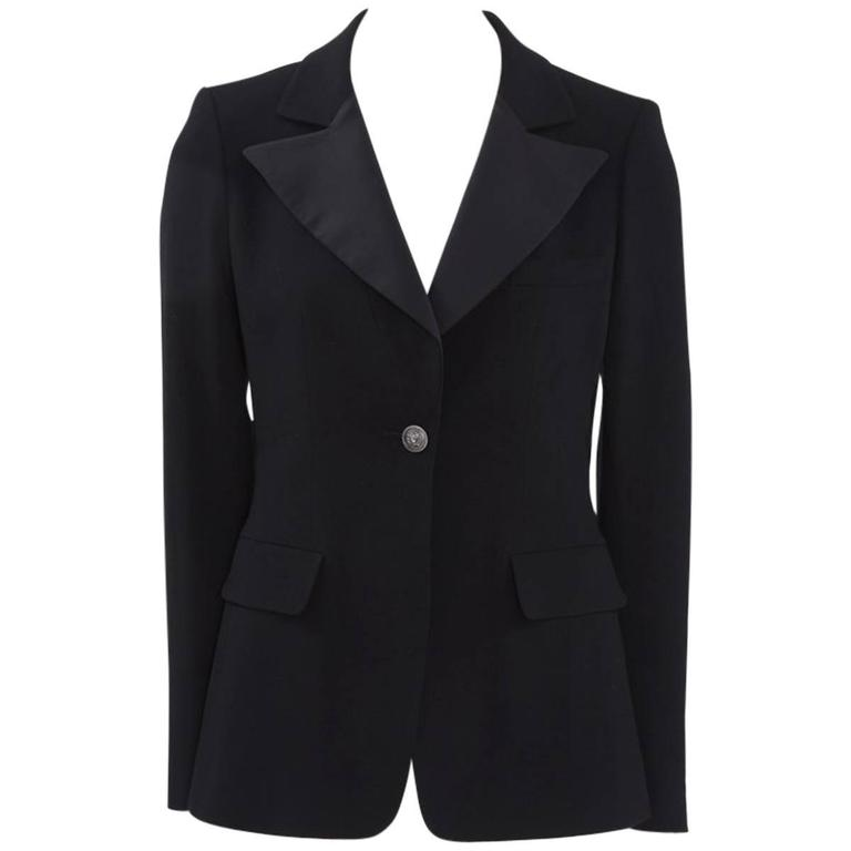 Chanel Wool Blazer Jacket