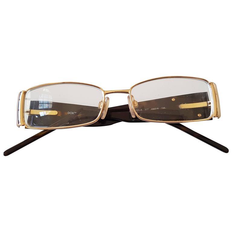 Dolce and Gabbana tortoise frame glasses For Sale at 1stdibs