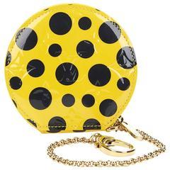 Louis Vuitton Vernis Leather Dots Infinity Juane Yayoi Kusama Round Coin 2010s