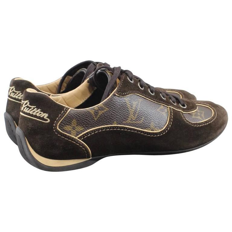 7284221454a Louis Vuitton Monogram Basket   sneakers Size 34 (US 3) at 1stdibs