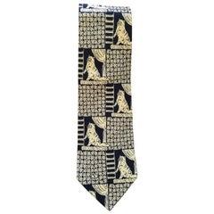 Valentino cream and blu Tie