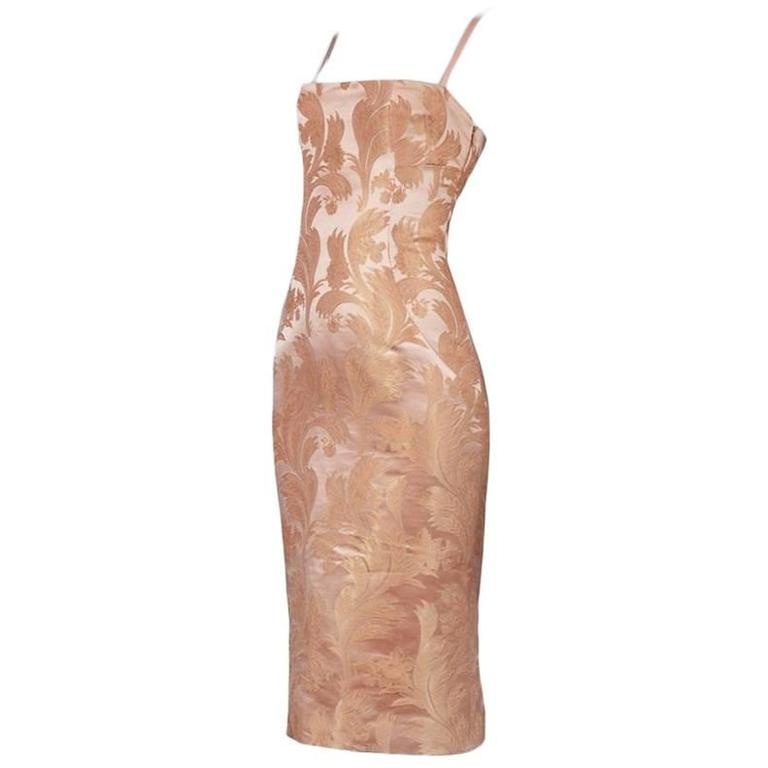 Dolce and Gabbana Blush Corset Dress at 1stdibs