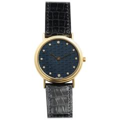 Hermes Limited EditionGold and Diamond Watch