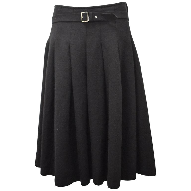 comme des garcons black box pleat skirt for sale at 1stdibs